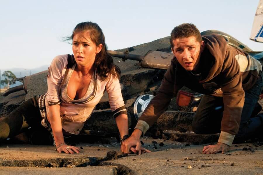 Transformers : Megan Fox et Shia LaBeouf dans de beaux draps