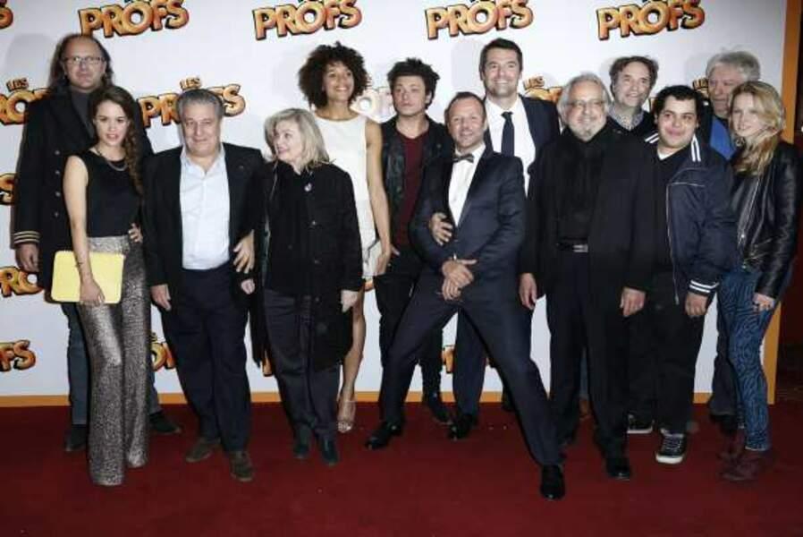 Toute l'équipe du film Les Profs