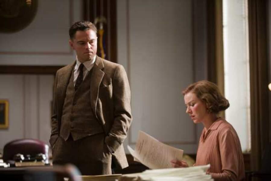 Leonardo DiCaprio et Naomi Watts dans J. Edgar (2012)
