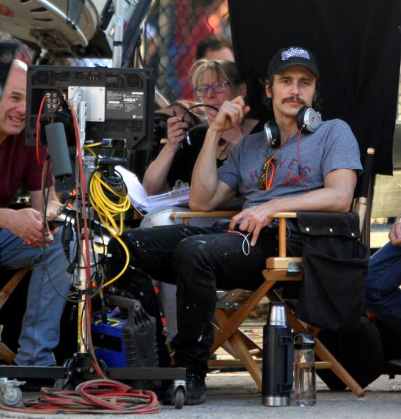 À Brooklyn, James Franco réalise sa série The Deuce pour HBO