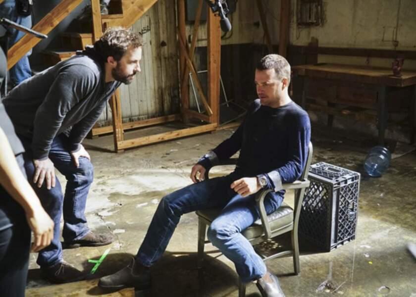 Sur NCIS : Los Angeles, Callen, qui n'a pas l'habitude d'être captif, doit bien écouter les instructions de jeu !