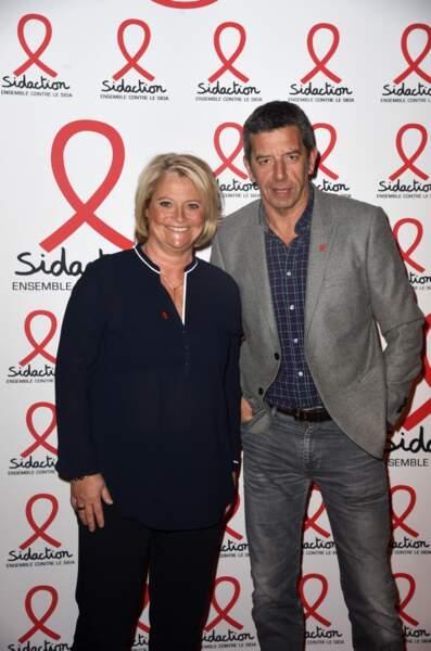 Marina Carrere d'Encausse et Michel Cymes (France 5)