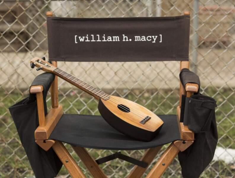 Le ukulélé de William H. Macy, le père dont personne ne voudrait de Shameless, l'attend bien sagement !