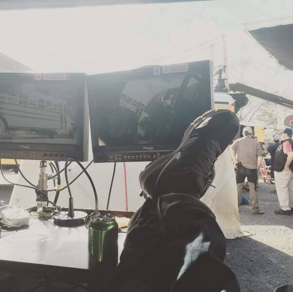 Les pieds sur le bureau, Paul Wesley réalise un nouvel épisode de Vampire Diaries