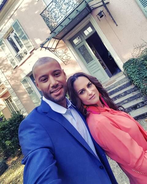 Xavier Delarue et Carole Dechantre, alias Antoine et Ingrid, s'éclatent sur le tournage des Mystères de l'amour