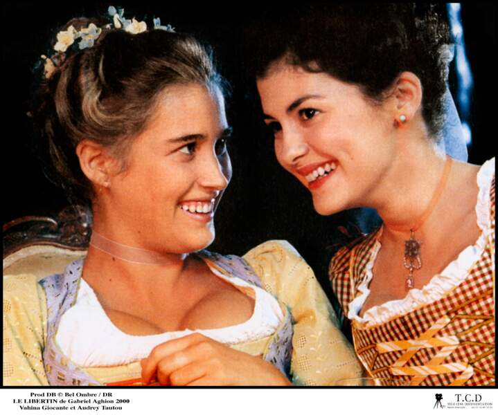 LE LIBERTIN (1999) : elle y tient un petit rôle, mais cotoie un sacré casting