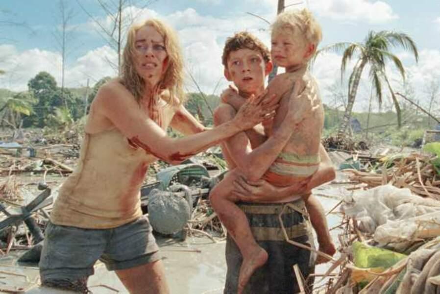 Naomi Watts en plein Tsunami du 26 décembre 2004 dans The Impossible (2012)