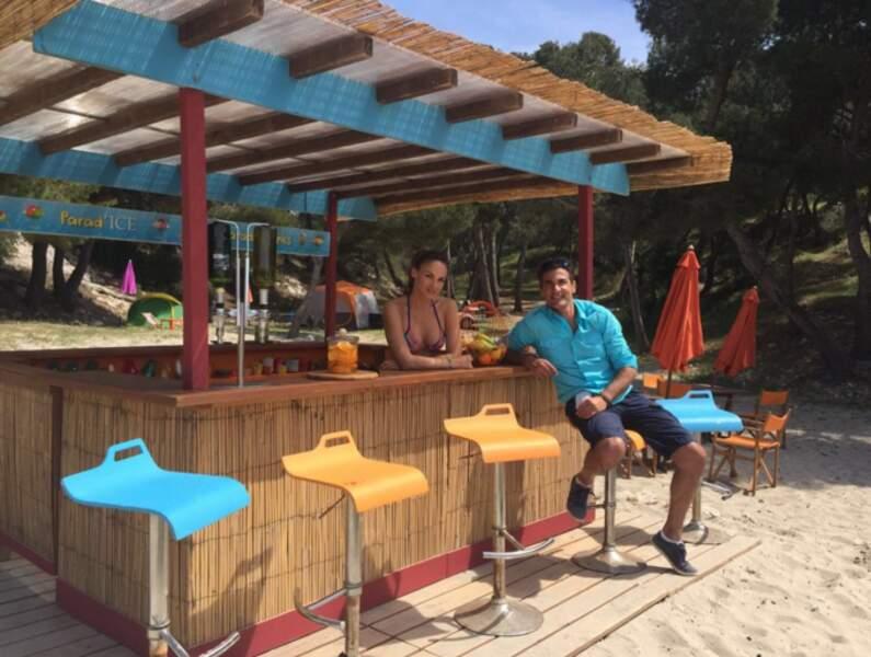 En comparaison, le tournage de Camping Paradis est plus calme. Et Amandine et Xavier ne diront pas le contraire.