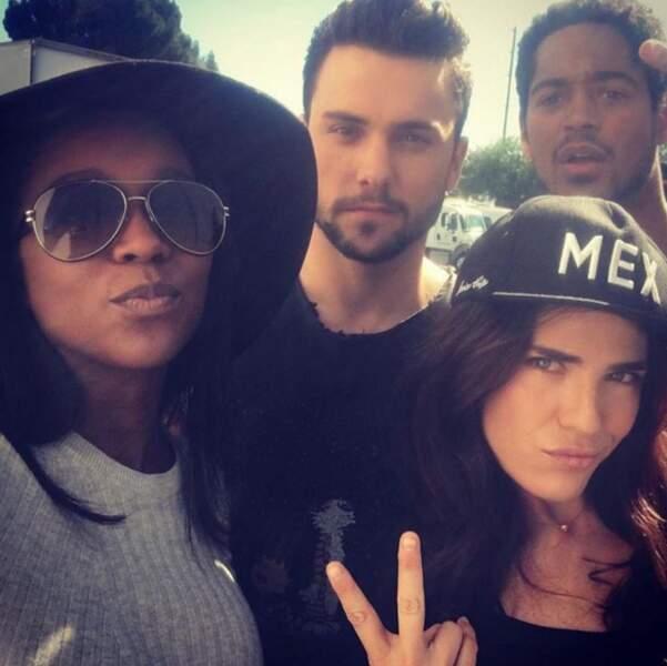 N'est-ce pas Aja Naomi King (Michaela), Jack Falahee (Connor), Alfred Enoch (Wes) et Karla Souza (Laurel) ?
