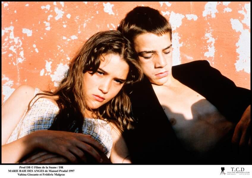 MARIE BAIE DES ANGES (1997) : le film qui la révèle. Elle n'a que 15 ans.