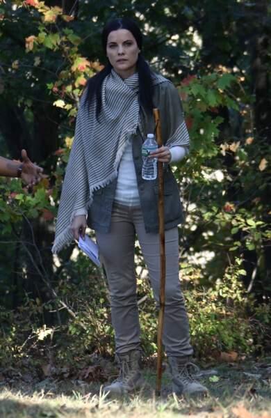 Sur le tournage de Blindspot, Jaimie Alexander part en randonnée