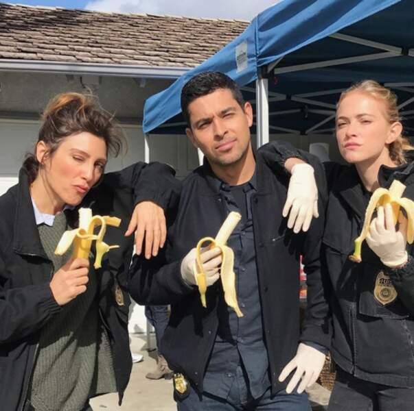 Le moins que l'on puisse dire, c'est que l'équipe de NCIS a la banane