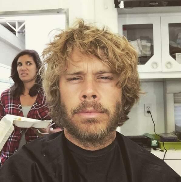 Une petite coupe de cheveux s'impose pour Eric Christian Olsen avant le début de NCIS : Los Angeles