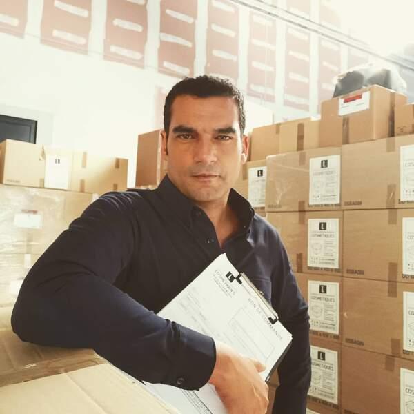 Julien Masdoua (Un si grand soleil), jamais pris au dépourvu, même pour une photo décontractée