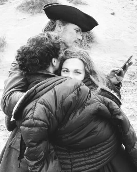 Sophie Skelton (Outlander), toujours perdue entre deux époques !