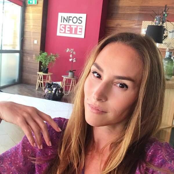 Si elle s'est blessée, Vanessa Demouy n'a pas déserté longtemps le tournage de la série de TF1