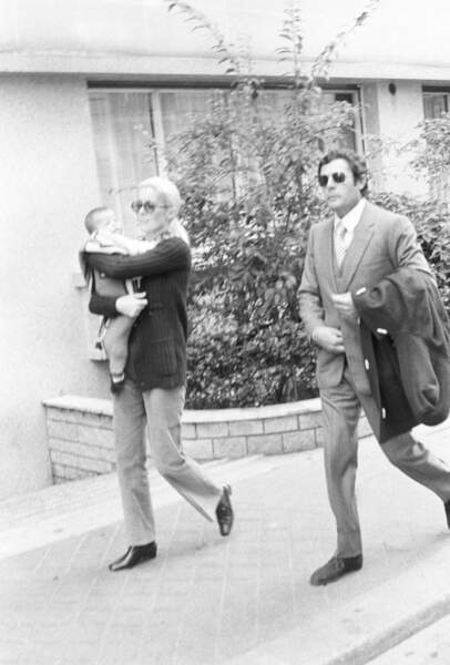 En 1972, le couple a une fille Chiara