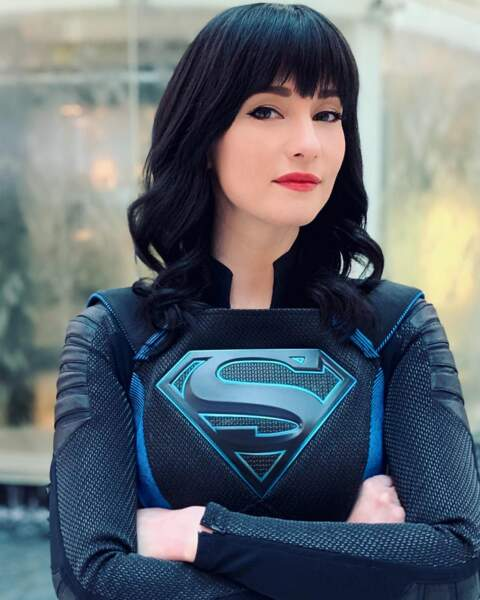 Chyler Leigh arbore avec fierté son costume dans Supergirl