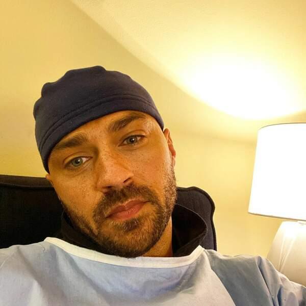Quant à Jesse Williams, il est toujours prêt pour le tournage de Grey's Anatomy