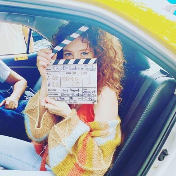 À Bangkok, Blandine Bellavoir tourne un nouvel épisode de Coup de Foudre... pour TF1