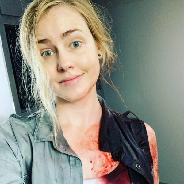 Pour Amanda Schull, les journées de tournage sur MacGyver ne sont pas toujours faciles !