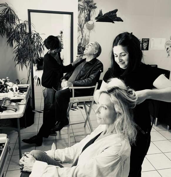 Il est venu le temps de la coiffure pour les Frémont, père et fille