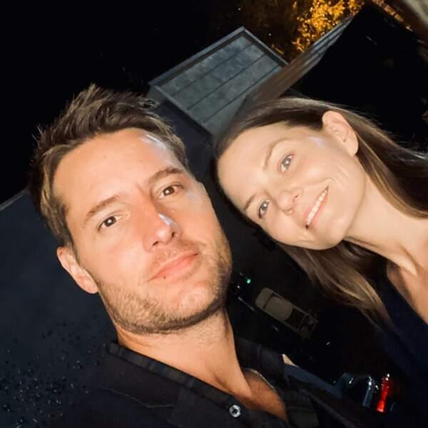 Justin Hartley et Jennifer Morrison semblent inséparables sur le tournage de This Is Us