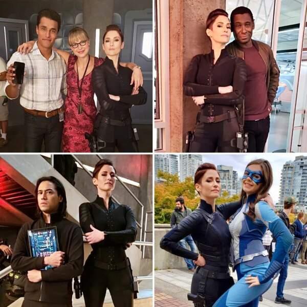Peu importe les situations dans Supergirl, Chyler Leigh (Alex Danvers) sait toujours comment prendre la pose !
