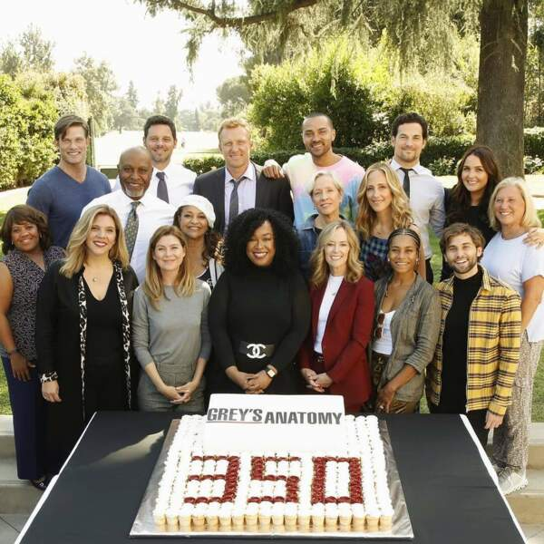 Grey's Anatomy célèbre son 350ème épisode en grande pompe !