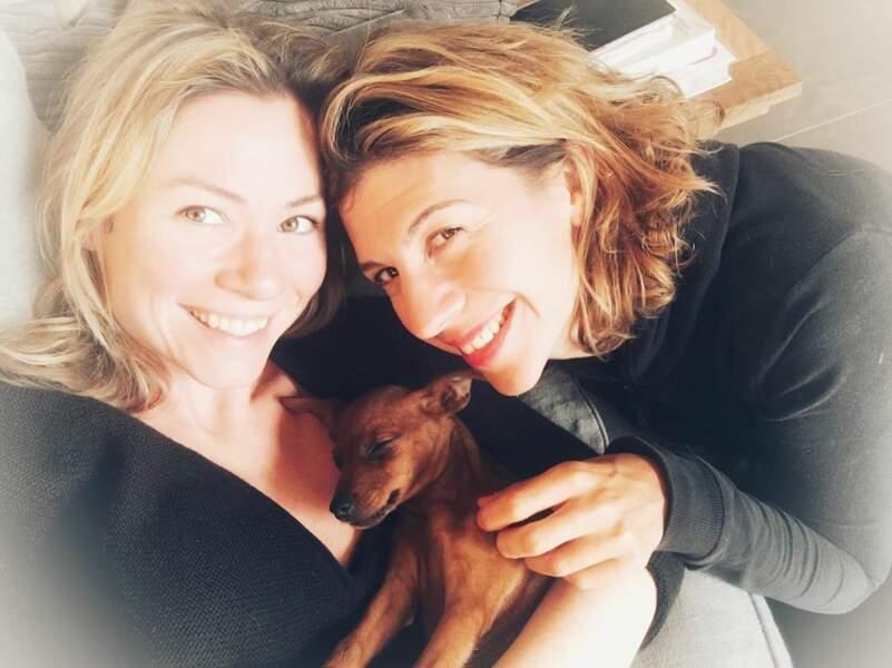 Maud Baecker et Juliette Tresanini, (DNA), la même passion canine ?