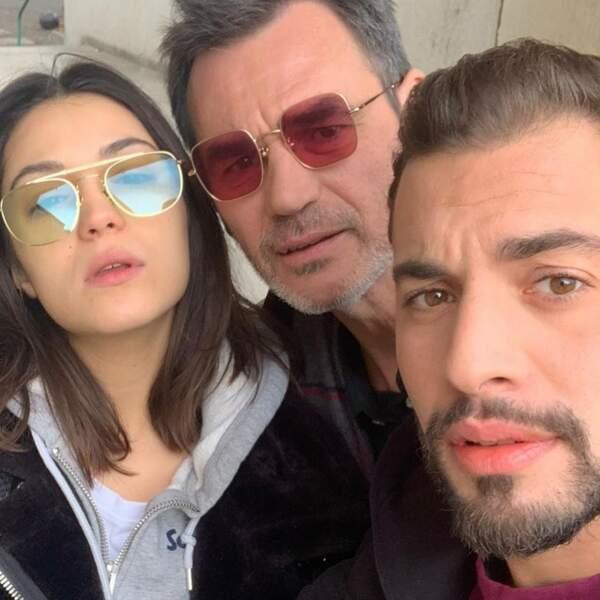 Cherchez l'intrus : Marwann Berreni a oublié ses lunettes de soleil