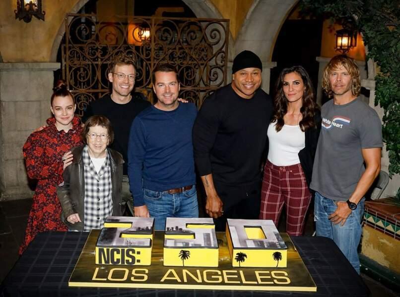 L'équipe de NCIS : Los Angeles a célébré un anniversaire important : le 250e épisode de la série !