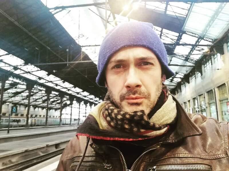 Pas de panique, Emanuele Giorgi a réussi à avoir son train pour rejoindre Marseille malgré la grève !
