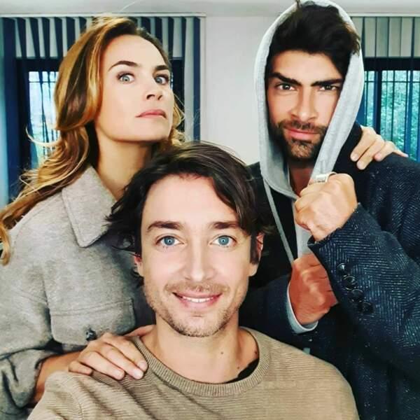 Le feuilleton de France 2 peut compter sur son trio de choc pour animer les longues journées de tournage…