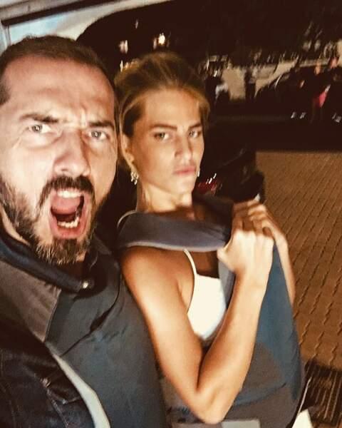Solène Hebert et Franck Monsigny sont intenables sur le tournage