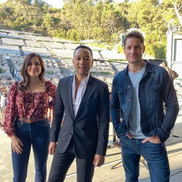 This is Us : Justin Hartley serait-il impressionné par la présence de John Legend et Sophia Bush sur le plateau ?