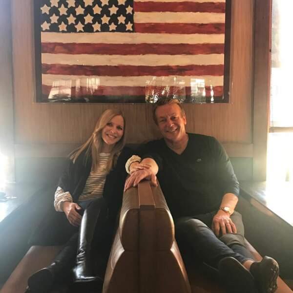 Lauralee Bell a eu droit à un déjeuner d'anniversaire tardif mais sympathique de la part de son partenaire Doug Davidson