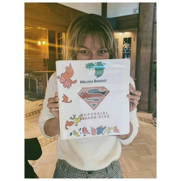 Supergirl : pas la peine de se cacher, derrière le script, Melissa Benoit, on t'a reconnue !