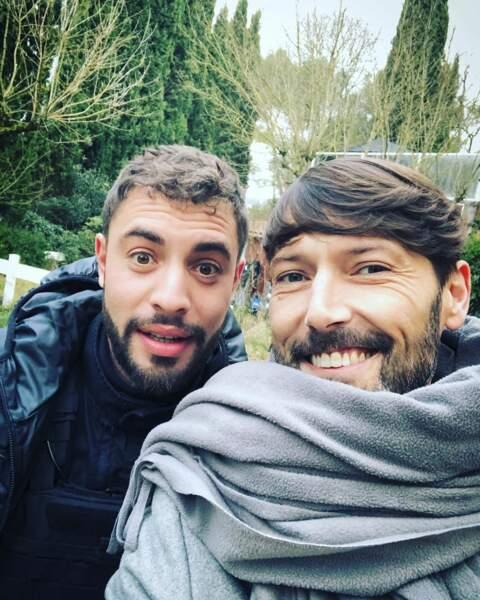 Et là, Laurent Kérusoré et Marwan Berreni, heureux mais légèrement frigorifiés, non ?