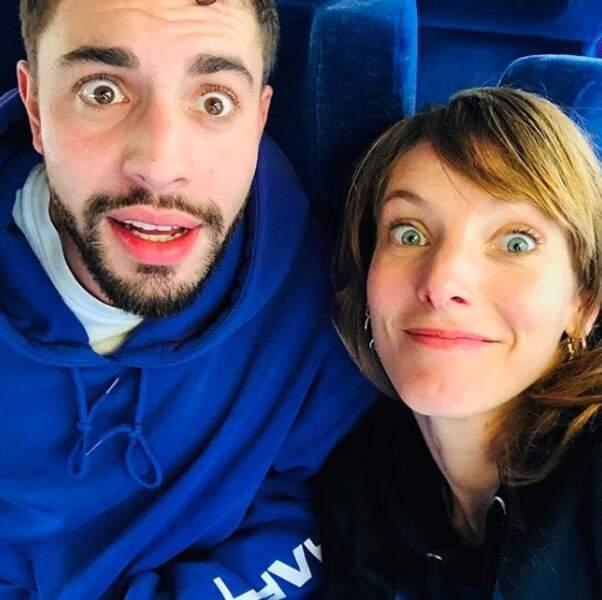 Elodie Varlet et Marwan Berreni s'entendent à merveille !