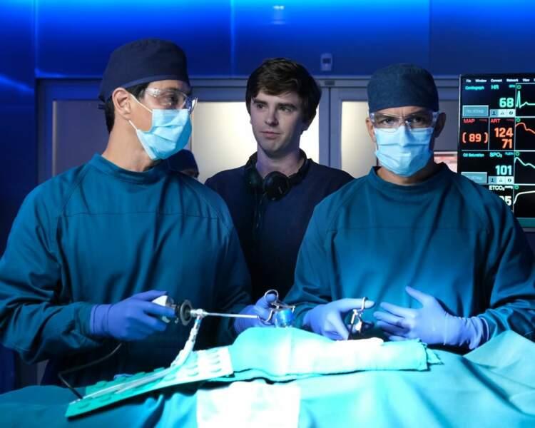 Ça ne rigole pas dans le bloc opératoire de Good Doctor !