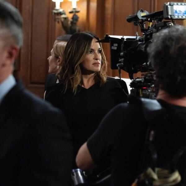 Mariska Hargitay, concentrée sur le tournage de New York, unité spéciale