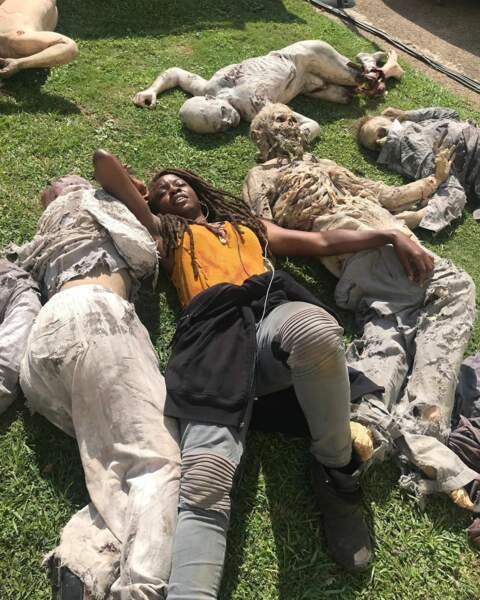 Une sieste au milieu des zombies, ça vous dit ?
