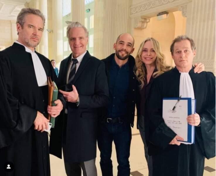 Les comédiens d'Un si grand soleil sont allés tourner au tribunal de Nimes un procès. Mais de qui ?