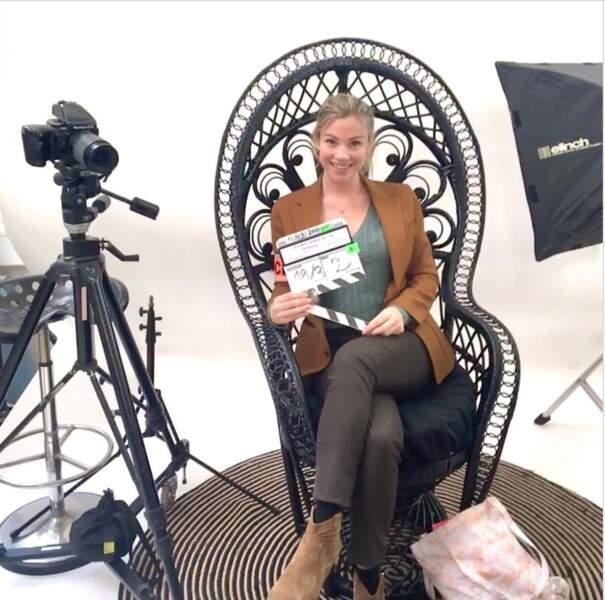 Maud Baecker a commencé le tournage d'un téléfilm pour France 3